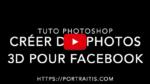 créer des photos 3D sur facebook
